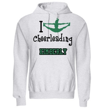 I Splits Cheerleading  Unisex Gildan Heavy Blend Hoodie