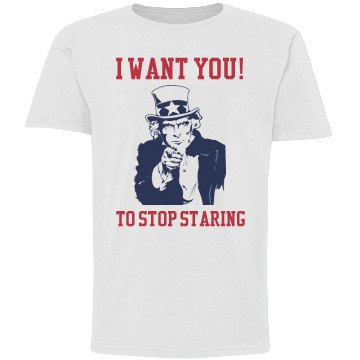 I Want You...