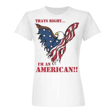 I'm an American Junior Fit Basic Bella Favorite Tee