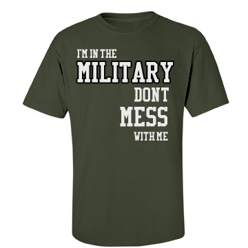 I'm In The Military Unisex Gildan Heavy Cotton Crew Neck Tee