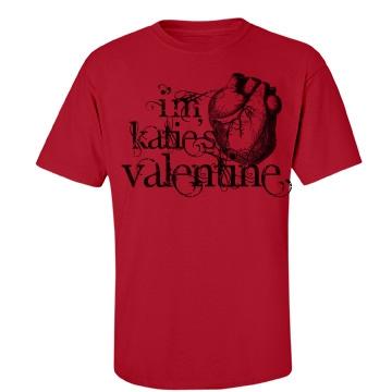 I'm Katie's Valentine Unisex Port & Company Essential Tee