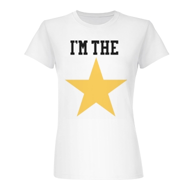 I'm The Star Theater  Junior Fit Basic Bella Favorite Tee