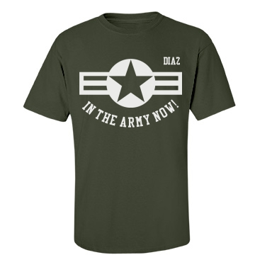 In the Army now! Unisex Port & Company Essential Tee
