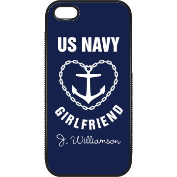 iPhone 5 Navy Girlfriend