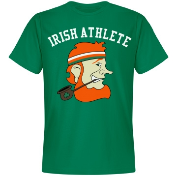 Irish Athlete Unisex Anvil Lightweight Fashion Tee