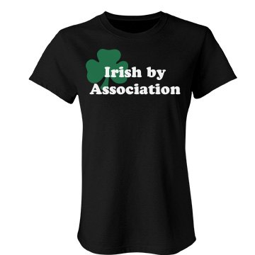 Irish By Association Junior Fit Bella Favorite Tee