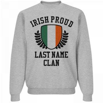 Irish Family Pride Shield St Pat