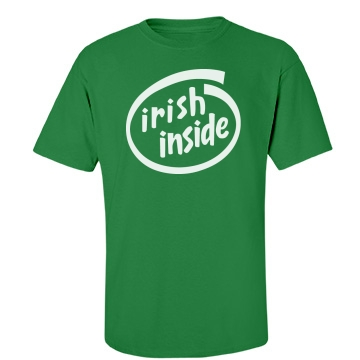 Irish Inside Unisex Gildan Heavy Cotton Crew Neck Tee
