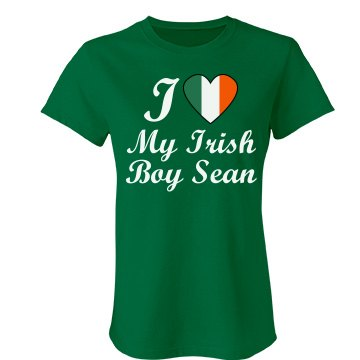 Irish Love Junior Fit Bella Favorite Tee