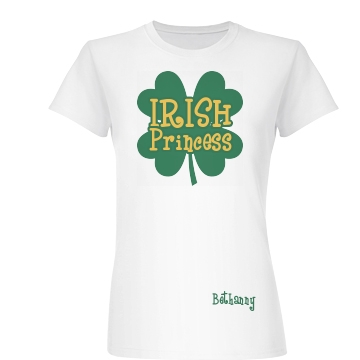 Irish Princess Junior Fit Basic Bella Favorite Tee