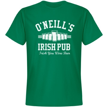 Irish Pub Business Unisex Anvil Lightweight Fashion Tee