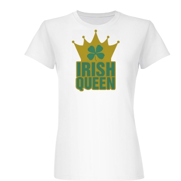 Irish Queen Junior Fit Basic Bella Favorite Tee