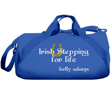 Irish Stepping Custom Bag Liberty Bags Barrel Duffel Bag