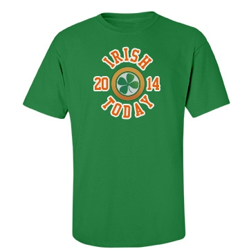 Irish Today Unisex Gildan Heavy Cotton Crew Neck Tee