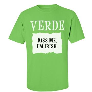 Irish Verde Unisex Port & Company Essential Tee