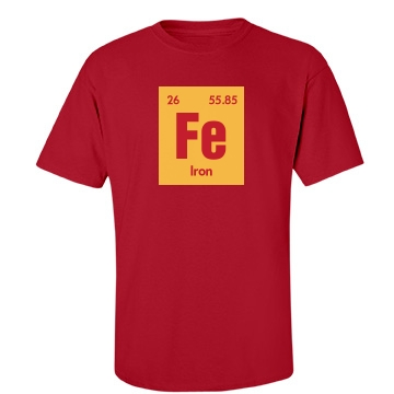 Iron Man Costume Unisex Port & Company Essential Tee