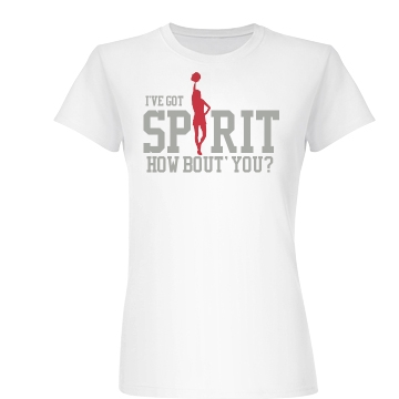 I've Got Spirit Cheer Junior Fit Basic Bella Favorite Tee