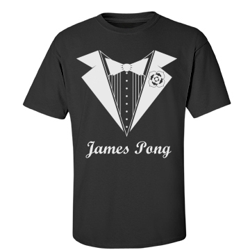 James Pong Unisex Gildan Heavy Cotton Crew Neck Tee