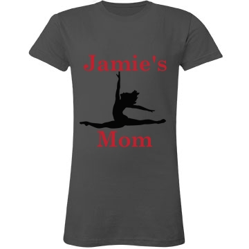 Jamie's Mom Dance Junior Fit LA T Fine Jersey Tee