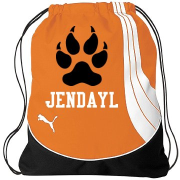 Jendayl's Cheer Gear PUMA Teamsport Drawstring Gym Bag