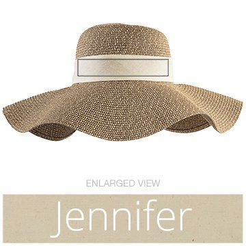 Jennifer's Beach Hat