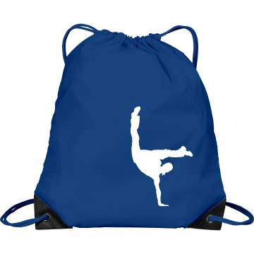 Jiggy With It Dance Bag Port & Company Drawstring Cinch Bag