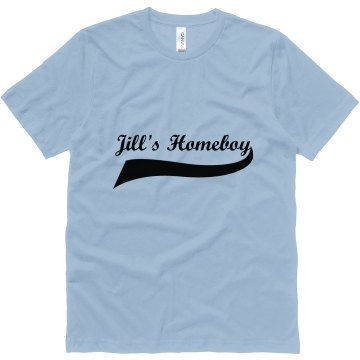 Jills Homeboy Unisex Canvas Jersey Tee