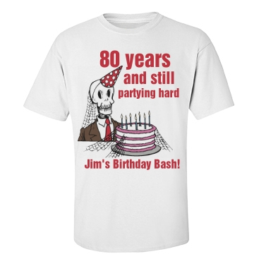 Jim's 80th Birthday Party