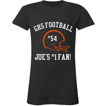 Joe's #1 Sports Fan Junior Fit LA