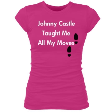 Johnny Taught Me Junior Fit Bella Sheer Longer Length Rib Tee