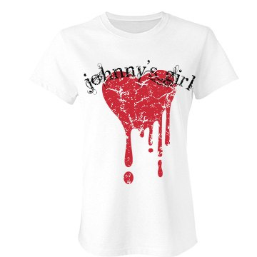 Johnny's Distressed Girl Junior Fit Bella Favorite Tee