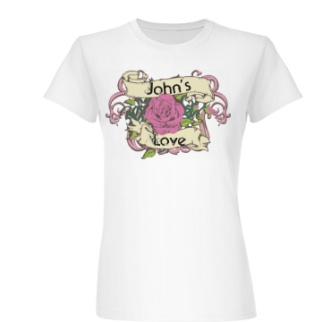John's Love Junior Fit Basic Bella Favorite Tee