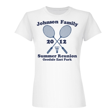 Johnson Family Reunion Junior Fit Basic Bella Favorite Tee