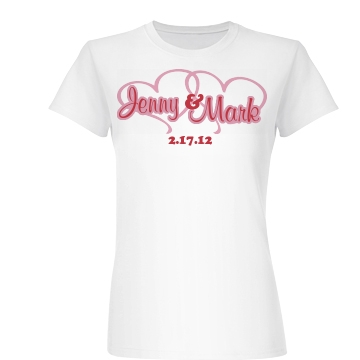 Joined Hearts Junior Fit Basic Bella Favorite Tee