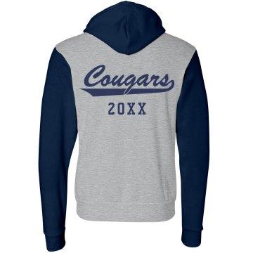 Junior High Wildcats Unisex Canvas Fleece