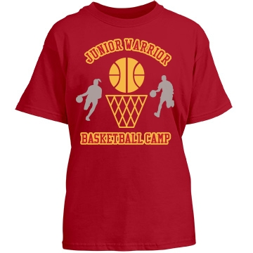 Junior Warrior Camp Youth Port & Company Essential Tee