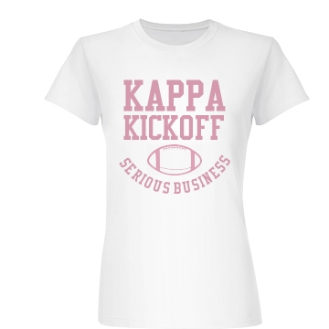 Kappa Kickoff Junior Fit Basic Bella Favorite Tee