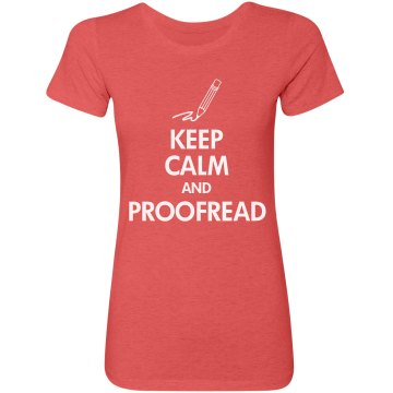 Keep Calm & Proofread