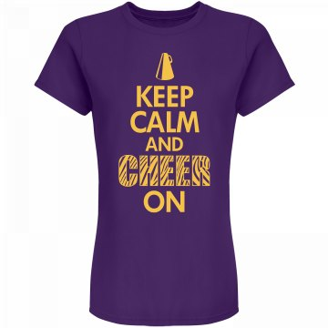 Keep Calm And Cheer On