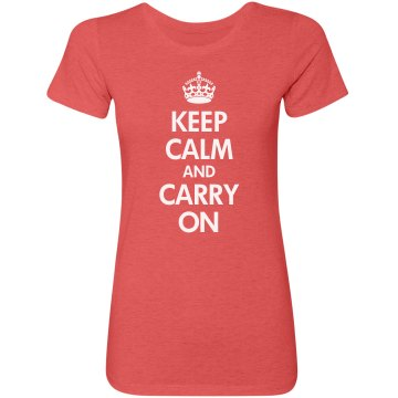 Keep Calm Carry On Tri