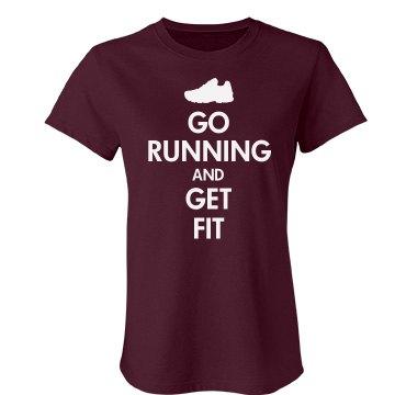 Keep Calm Go Running