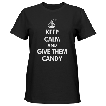 Keep Calm Grandparents Misses Relaxed Fit Port & Company Essential Tee