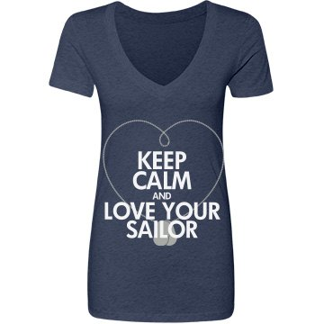 Keep Calm Love a Sailor