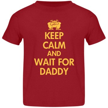 Keep Calm Military Daddy