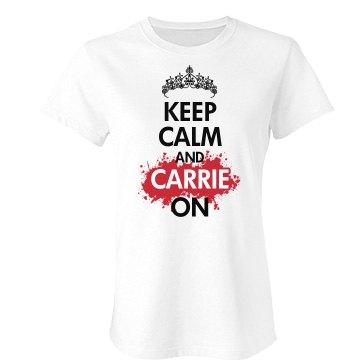 Keep Calm Prom Queen