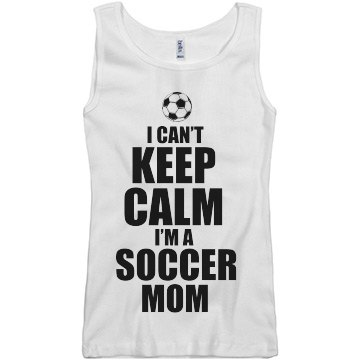 Keep Calm Soccer Mom