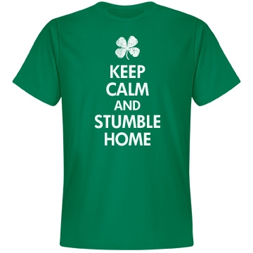 Keep Calm St. Patrick's Unisex Anvil Lightweight Fashion Tee