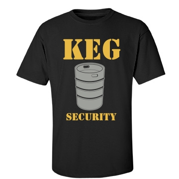 Keg Security Unisex Port & Company Essential Tee