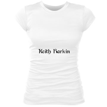 Keith Harkin Junior Fit Bella Sheer Longer Length Rib Tee