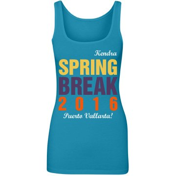 Kendra's Spring Break